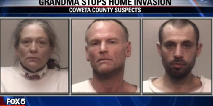 Coweta county georgia grandma stops burglary