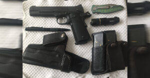 #DIGTHERIG – Mike and his Kimber Custom TLE2 in an Andrews Leather McDaniel 2 Holster