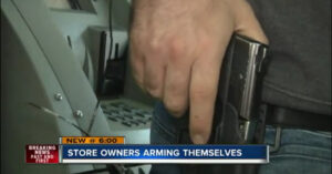 Store Owners Arming Themselves After Nearby Robbery