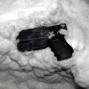 Frozen glock