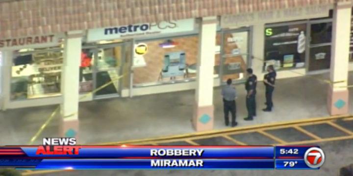 Miramar florida metro pcs robbery