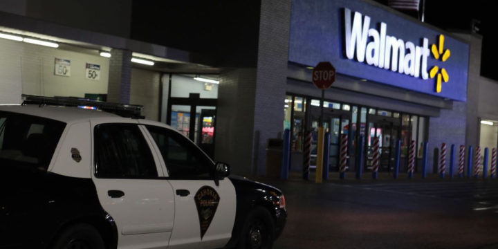 Walmart off duty officer fugitive