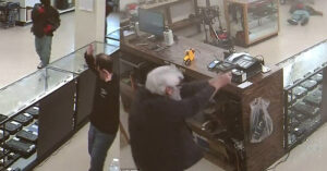 [WARNING: GRAPHIC VIDEO] Owner Of Dixie Pawn And Gun Fights Back Against Armed Robbers