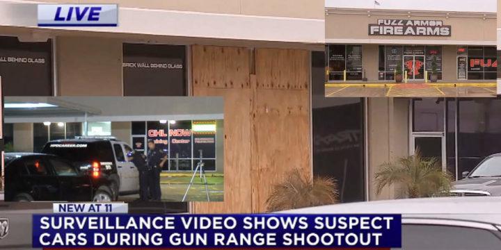 Houston gun range robbed employees fight back