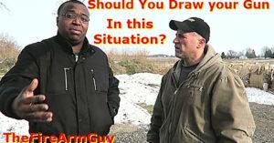 [SCENARIO] Two Unarmed Men Attack; Should You Draw Your Firearm?