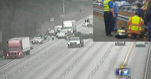 Good Samaritan Draws His Gun On Hit-And-Run Driver Attempting To Flee