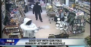 [VIDEO] It's Good To Have Armed Friends: You've Never Seen Armed Robbers Run So Quickly