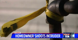 Home Intruder Gets Shot Breaking Into Home — Runs To Neighbors For Help