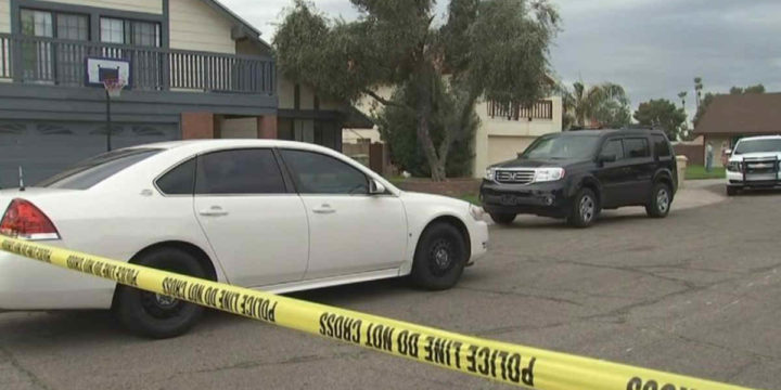 Glendale az home invasion gun ready hit with hammer