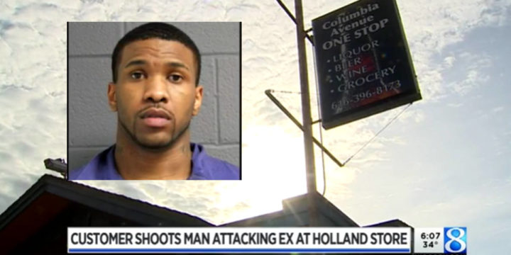 Holland michigan abusive ex boyfriend shot