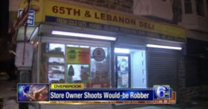 Armed Suspect Announces Robbery at Deli, But The Armed Owner Had Different Plans
