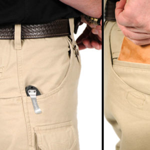 Pocket carry crossbreed holsters example alternate concealment methods