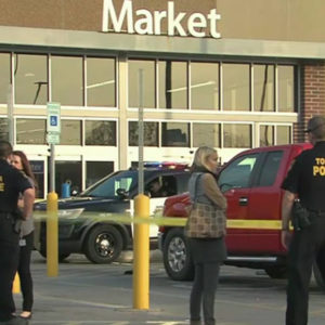 Topeka kansas walmart parking lot altercation