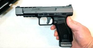 [FIREARM REVIEW] Canik TP9 SFx Full Size Competition Pistol