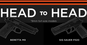 New Army Choice of Handgun: Sig Sauer P320 vs Beretta M9 HEAD-TO-HEAD