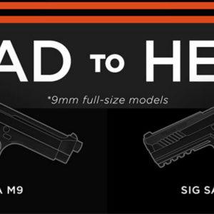 Beretta m9 vs sig sauer p320