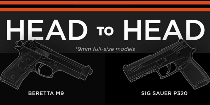 New Army Choice of Handgun: Sig Sauer P320 vs Beretta M9 HEAD-TO