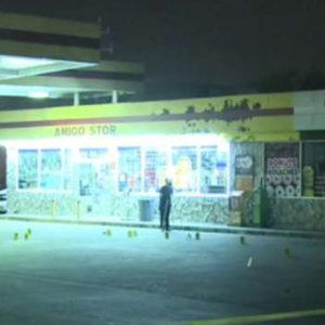 Houston texas gas station robbery