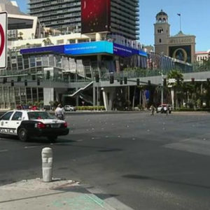 Las vegas strip shooting