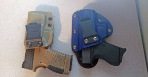 #DIGTHERIG – Tyler and his Springfield XDs 9mm and Glock 43 in Squared Away Customs and Raw Dog Tactical Holsters
