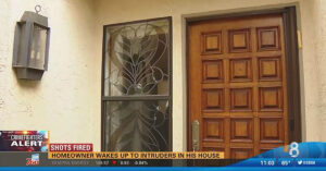 Homeowner Opens Fire On Intruder, Sends Them Running Faster Than They Came In