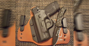#DIGTHERIG – Mike and his S&W M&P Shield 45 in an Alien Gear Holster