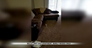 Irresponsible Gun Owner Shoots 9mm Through Ceiling, Almost Hitting Child In Upstairs Apartment