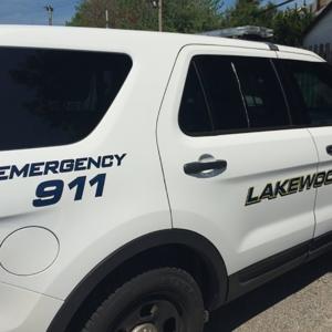 Police car lakewood