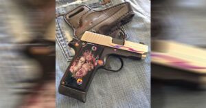 #DIGTHERIG – Sherry and her Sig Sauer P238 Tribal