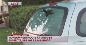 Homeowner Strikes All Three Men In Drive-By Shooting Outside His Home