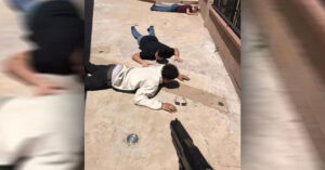 Armed Homeowner Holds Wannabe Intruders At Gunpoint, Takes A Picture As A Keepsake