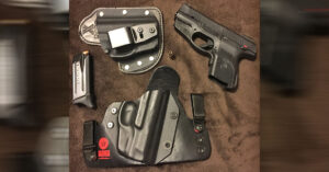 #DIGTHERIG – Charles and his Ruger SR9c in an Old Faithful Holster