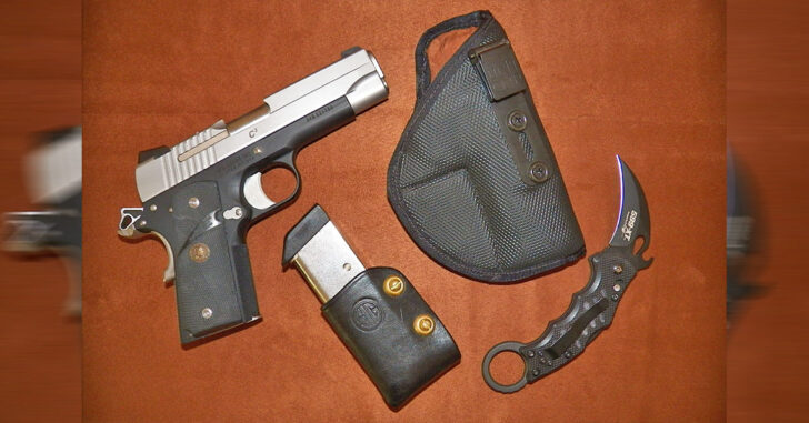 #DIGTHERIG – Steve and his Sig Sauer C3 in a Fusion Holster