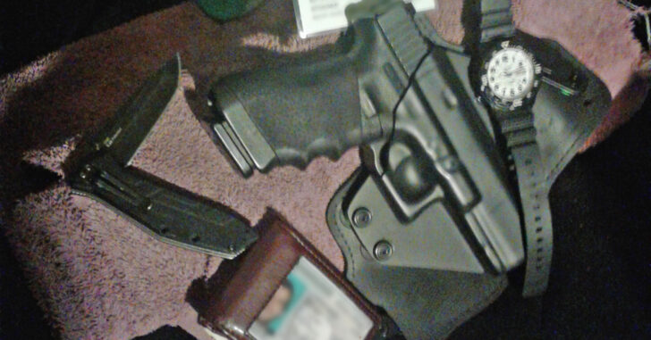 #DIGTHERIG – Rory and his Glock 22 in an Alien Gear Holster