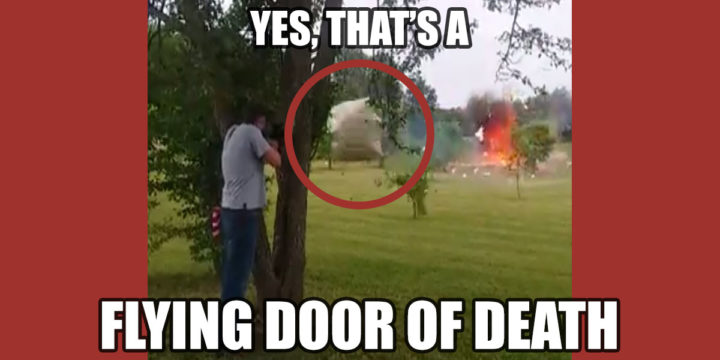 FLYING DOOR OF DEATH