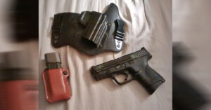 #DIGTHERIG – Matthew and his Smith & Wesson M&P 9c in a Galco Holster