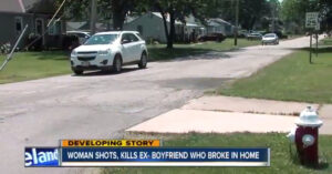 Woman Shoots Ex After Break-in, Leg Shot Proves Deadly