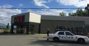 Robber Shot During Hardware Store Robbery