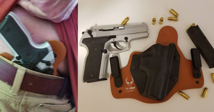 #DIGTHERIG – Grant and his Stoeger 8040 Cougar 40 S&W in an Alien Gear Holster