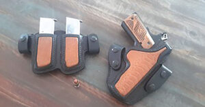 #DIGTHERIG – Wes and his Ruger SR1911 CMD in a CB's Leather Works Holster