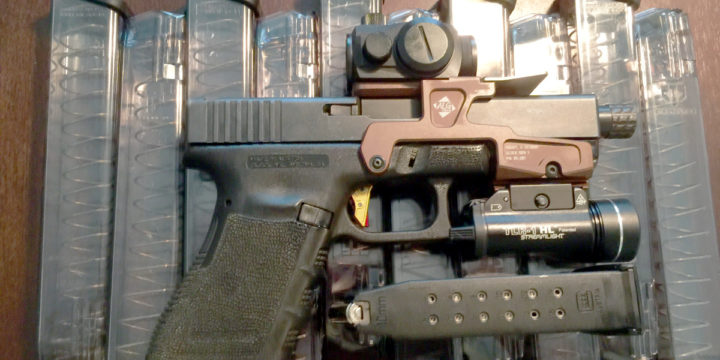 Glock with all the fixing