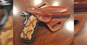 #DIGTHERIG – Ronald and his Kimber CDP ii Pro in a Galco Holster
