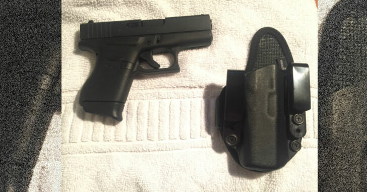 #DIGTHERIG – Mat and his Glock 43 in a StealthGearUSA Holster