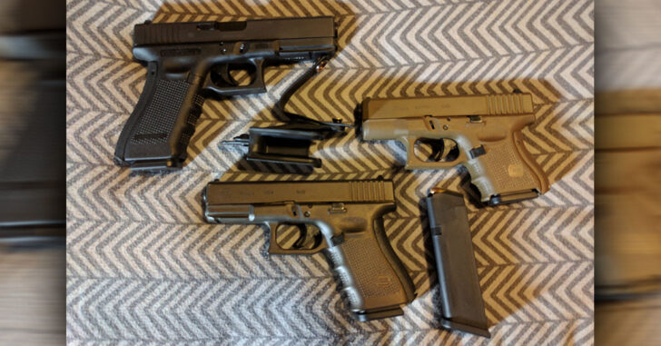 #DIGTHERIG – Kevin and his Glock 26 or 19 in a Raven Vanguard Holster