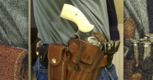 #DIGTHERIG – Cotter and his Ruger Redhawk in a DeSantis Holster