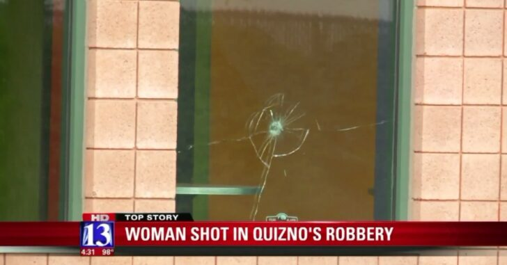 """Take Over Style"" Quiznos Attack Doesn't End Well For The Thugs, Because One Employee Is Armed"