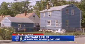 Homeowner Dies In Gun Battle With Teenage Home Intruders