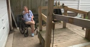Woman In Wheelchair Scares Off Burglar By Showing Him Her Gun