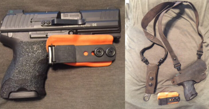 #DIGTHERIG – Dan and his HK P30SK in a Clip Draw or Galco Holster