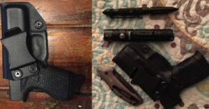 #DIGTHERIG – Eric and his Glock 42 or Taurus PT111 in a Concealment Express Holster